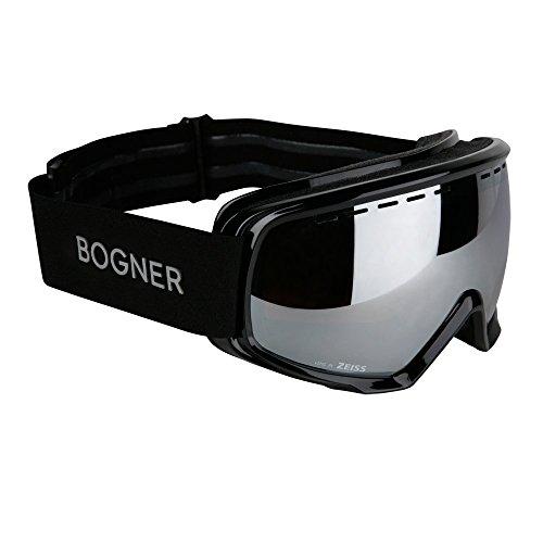 Bogner Snow Goggles Monochrome | Schwarz | Ski & Snowboard | Hochwertige Qualität