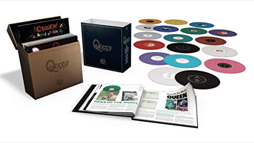 Complete Studio Album (Limited Coloured LP-Box) [Vinyl LP] (Queen Vinyl-box-set)
