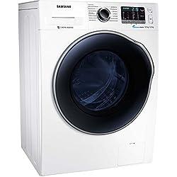 Samsung wd5000wd80j5a00aw/CE lave-linge séchant/A/17600kWh/an/1400tr/min, 8kg/9600L/AN/schaumaktiv/airwash/Blanc