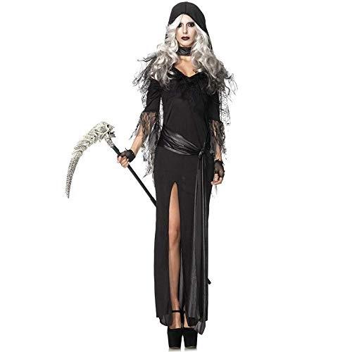 Fashion-Cos1 Gothic Sexy Hexe Vampir Cosplay Kostüm Adult Halloween Theme Party Geisterbraut Prinzessin Kostüm Rollenspiel Uniform - Adult Gothic Prinzessin Kostüm