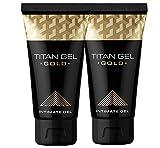 Crema Titan Gel de alargamiento del pene 2x50ml TITAN GOLD NOVO Limited Edition Garantizado Original
