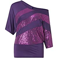 Tosonse Camiseta para Mujer Imprimir Tops Jersey De Cuello Redondo Blusa Tanques 2019 Tour Concierto Camisetas De Manga Corta Camiseta Túnica