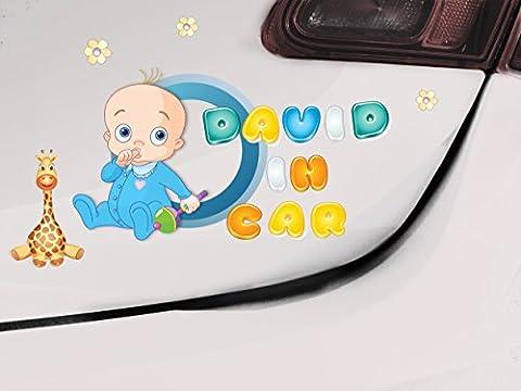Bébé à bord, Baby Girl, Baby Boy, Signe de voiture, Baby On Board Sign, Bébé à bord, Autocollant, Autocollant pour bébé, Baby Sign, Baby Car Sign
