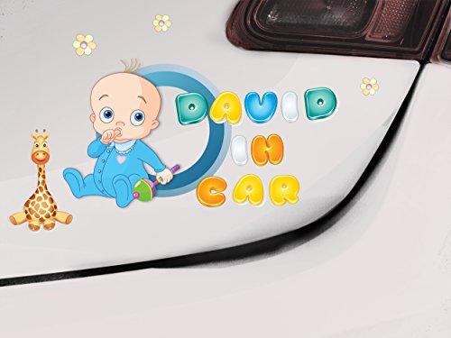 Pegatinas Baby on board, Baby Girl, Baby Boy, señal de coche, bebé a bordo de signo, Baby on board, adhesivo para parachoques, Pegatina, bebé señal, bebé señal de coche