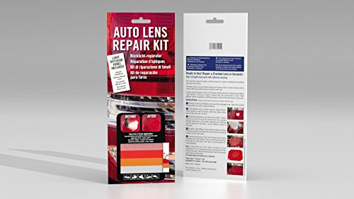 BV Corporation 132404 Kit DIY Réparation d'Optique de Voiture Feux arrière Clignotant - Pochette Panneaux 3 COULEURS + 1 TEXTURÉ pour la Bonne Diffusion de la Lumière