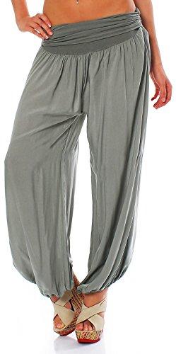 Malito Mujer Bombacho Muchos Colores Patrones Pantalón