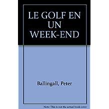 Golf, nouvelle édition