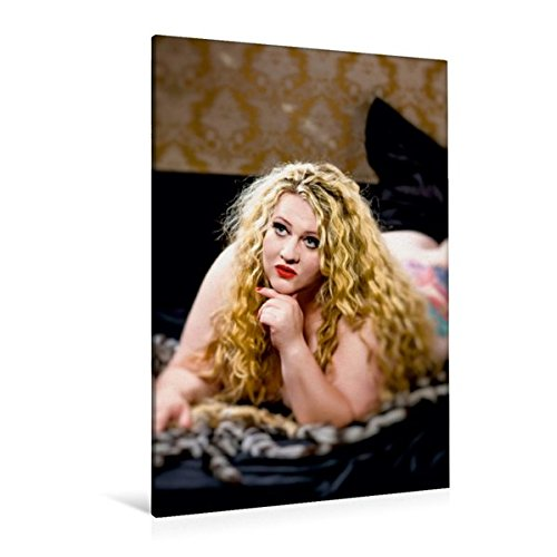 and 80 cm x 120 cm  hoch, XXL Dessous Girls | Wandbild, Bild auf Keilrahmen, Fertigbild auf echter Leinwand, Leinwanddruck: Plus Size Frau in sexy Unterwäsche (CALVENDO Menschen) (übergewicht Dessous)