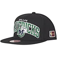 Mitchell   Ness Dallas Mavericks HUD127 Black Team Arch Snapback Cap HWC NBA ec4d9039d5bd