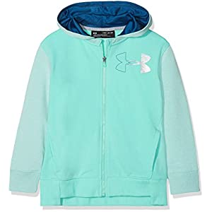Under Armour Mädchen Threadborne Terry Full Zip Up Top
