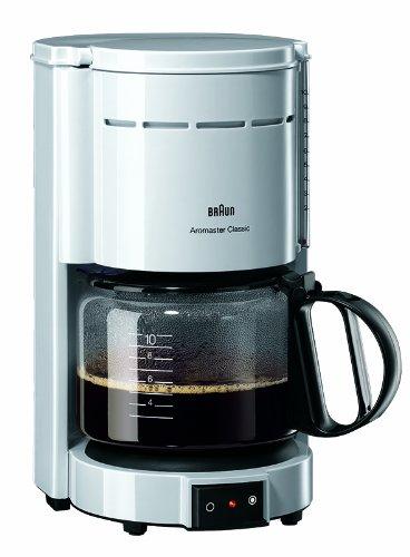 Braun KF 47 plus Aromaster® Macchina da caffè colore: Bianco