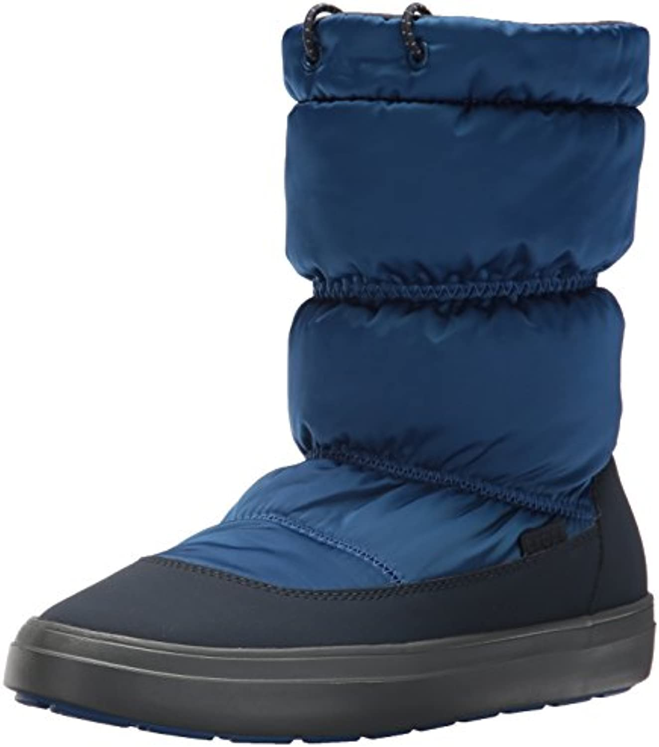 Crocs LodgePoint Shiny Pull-On Boot, Botas de Nieve para Mujer