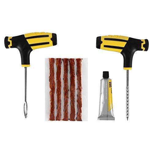 JOAN DOMINGUEZ 1 Set Auto Tubeless Reifenpannen-Reparatur-Set Nadel Patch Fix Tool Zement (Zement-patch)