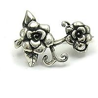 Spilla in argento 925 Fiore A000026