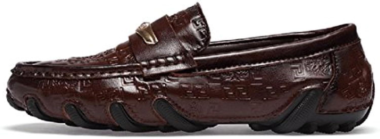 Herren Mode Freizeit Lederschuhe Flache Schuhe Rutschfest Licht Gemuumltlich Flache Schuhe Lässige Schuhe EUR GRöSSE
