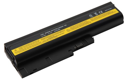 Mitsuru® 4800mAh Notebook Laptop Akku Batterie für Lenovo Thinkpad R500 R60 R60e...