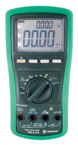 Price comparison product image Greenlee DM-810A True RMS Digital Multimeter 1000 Volt