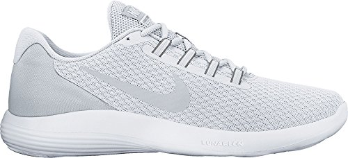 Nike Lunarconverge, Chaussures de Running Homme Blanc Cassé (White/pure Platinum/wolf Grey)