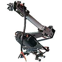 BALALA BIAN Solar Panel Epoxy 6DOF Mechanical Robot Arm Claw With Servos For Robotics Arduino DIY Kit
