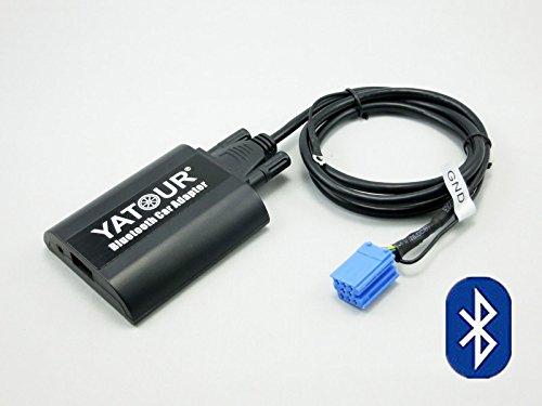 Nrpfell USB Et 3.5 mm AUX a Bluetooth Audio Aux Et Cable Adaptateur Femelle USB pour Voiture BMW Et Mini Cooper