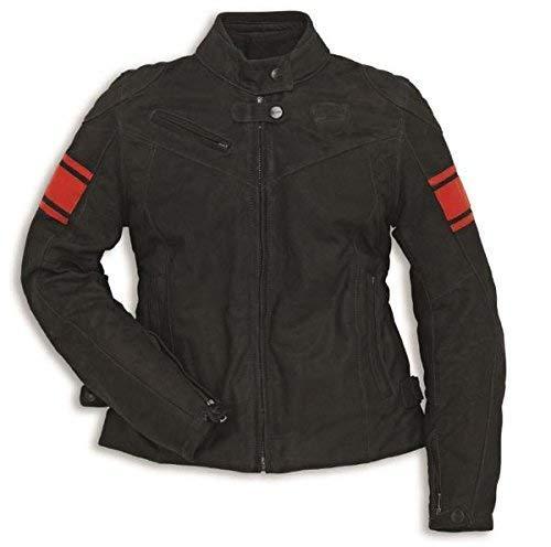 Ducati Dainese Classic C2 Damen Lederjacke schwarz Größe 44
