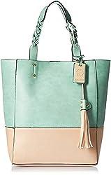 Stella Ricci Womens Shoulder Bag (Green) (SR153HGRN)