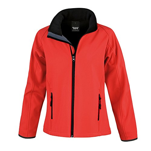 Result - Core - Giacca Softshell - Donna Verde vivace/Nero