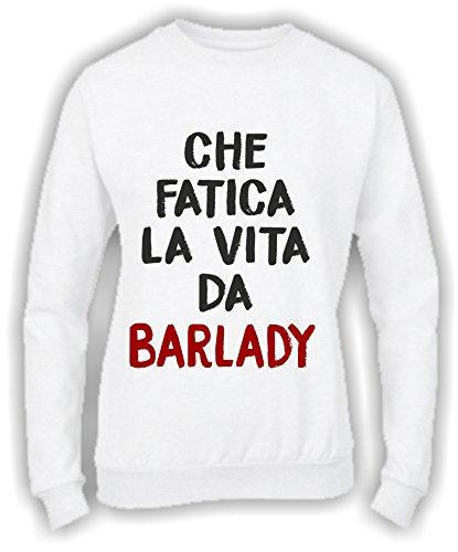 Social Crazy - Sweat-shirt - Femme Bianco