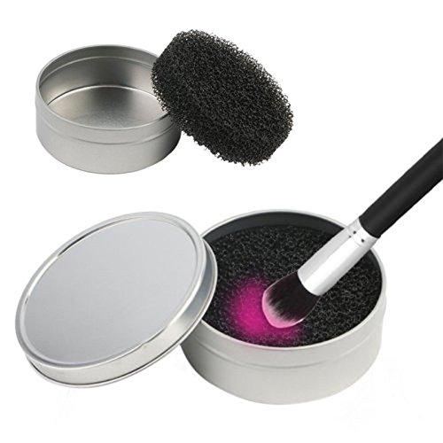 Boîtes Nettoyant de Pinceaux pour Maquillage - Éponges
