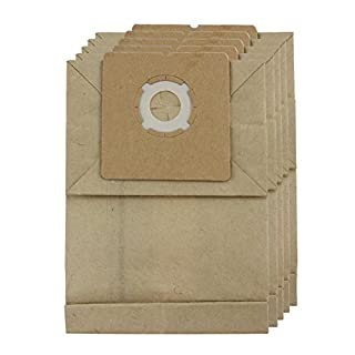 SPARES2GO Strong Dust Bags for Argos Value Vacuum Cleaners (Pack of 5)