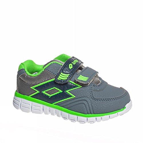 Chaussures Bébé Sunrise III Grey/Green - Lotto Gris