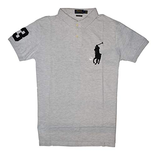 Ralph Lauren Polo Poloshirt Big Pony CSF Grau Größe XL