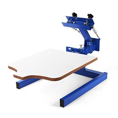 1Farbe 1Station siebdrucks Drücken Rechteck Drucker Wirtschaft