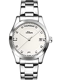 s.Oliver Time Damen-Armbanduhr SO-3394-MQ