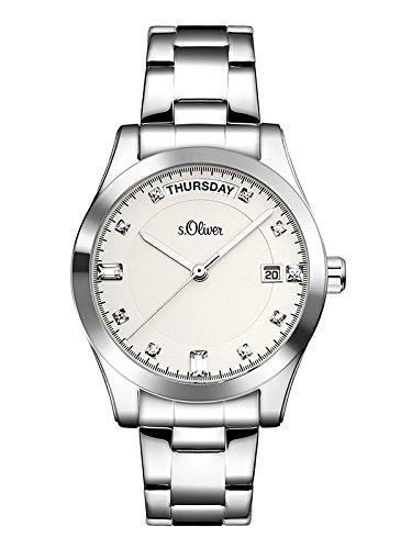 s.Oliver Time Damen-Armbanduhr SO-3394-MQ