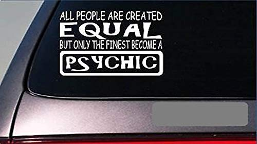 Celycasy Psychic Equal AufkleberG714, 20,3 cm, Vinyl-Tarot Karten Crystal Ball Fortune Teller