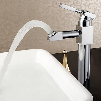 Robot Series Brass Hot And Cold Mixer Tap Rotating Countertop Basin Faucet