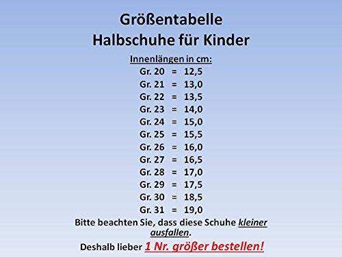 gibra, Sneaker bambini Grigio (Hellgrau/schwarz/grün)