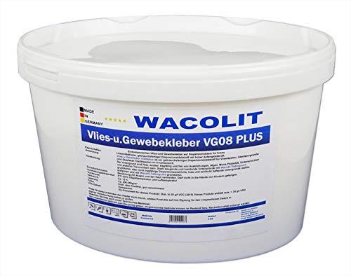 8 kg WACOLIT Vlies- u. Gewebekleber, Fertigkleber Vlieskleber für Glattvlies Renoviervlies Vliestapeten