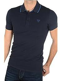 Guess Polo Rami S/s Bleu