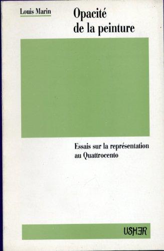 Opacité de la peinture par Louis Marin