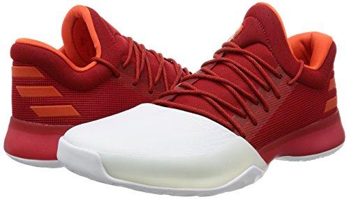 Chaussures adidas Harden Vol. 1 rouge foncé/blanc/orange brique
