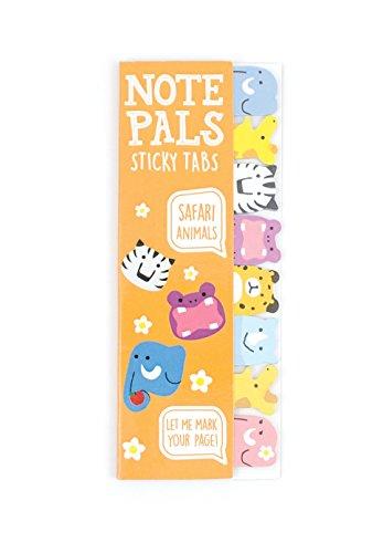 international-arrivals-llc-note-pals-safari-tiere-sticky-note-pad