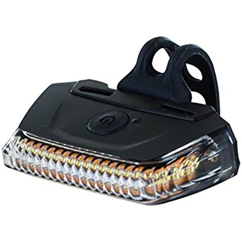 LIGHT WRAP FRONT MULTI LED USB BLACK by One23