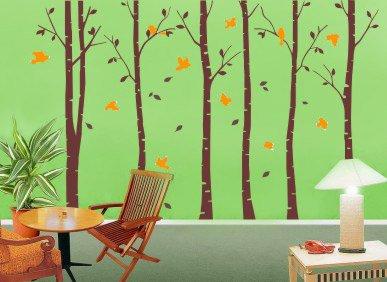six-grand-bouleau-arbres-avec-oiseaux-sticker-mural-en-vinyle-papier-peint-art-mural-pour-decoration