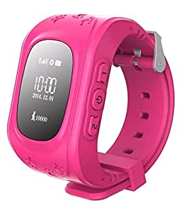 Protect your Children with JYARA Bluetooth Smart Watch (Pink)with Functions like GPS Tracker+Emergency Alarm+Voice Massage+Remote Power Off Compatible with All Alcatel One Touch Idol Mini