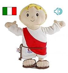 Idea Regalo - Jesusito de mi vida Peluche Gesù Bambino 30 cm. 3 Preghiere Italiano (Ref. 1007IT)
