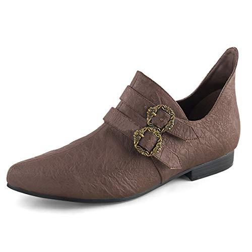 Higher-Heels Funtasma Renaissance Schuhe Aldix-20 braun Gr.47 EU -
