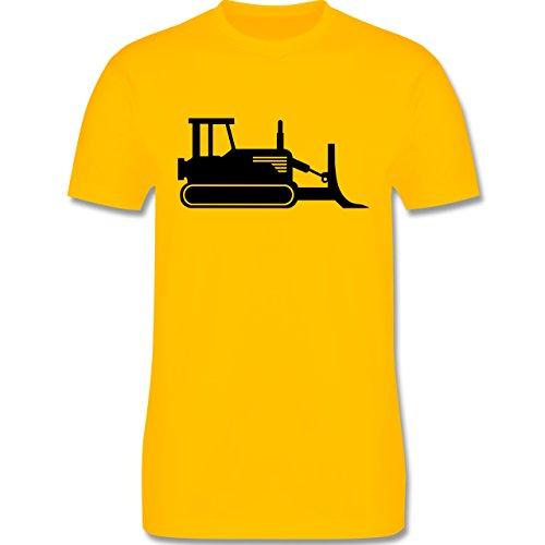 Andere Fahrzeuge - Raupenfahrzeug - Herren Premium T-Shirt Gelb