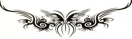 Faux tatouages étanche totem lumineux Phoenix